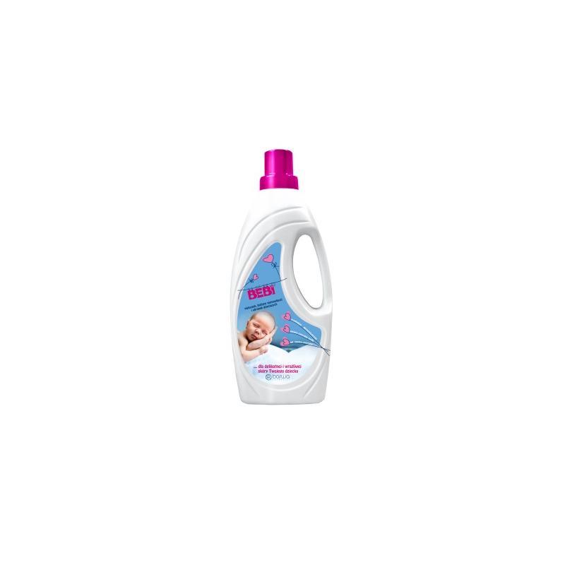 Bebi płyn do prania pieluszek bielizny niemowlęcej i ubranek dziecięcych 1l