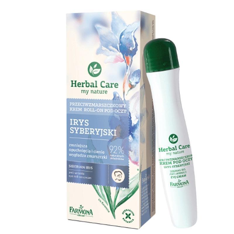 Herbal Care Siberian Iris Eye Roll-On Cream przeciwzmarszczkowy krem roll-on pod oczy irys syberyjski 15ml