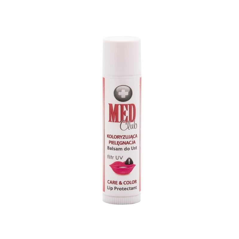 Med Club balsam do ust koloryzująca pielęgnacja 02 4g