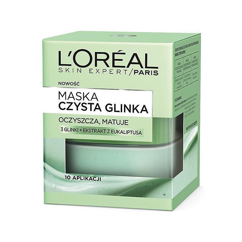 Czysta Glinka maska oczyszczająco-matująca 50ml