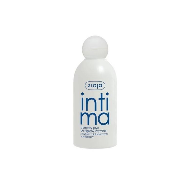 Intima płyn kremowy do higieny intymnej z kwasem hialuronowym nawilżający 200ml