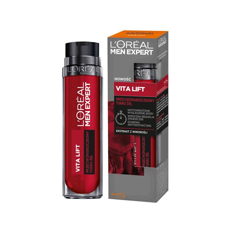 Men Expert Vita Lift przeciwzmarszczkowy turbo żel 50ml