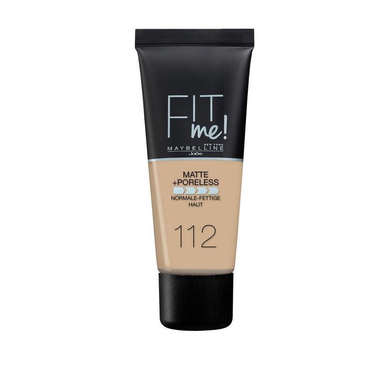 Fit Me Foundation matujący podkład do twarzy 112 Soft Beige 30ml